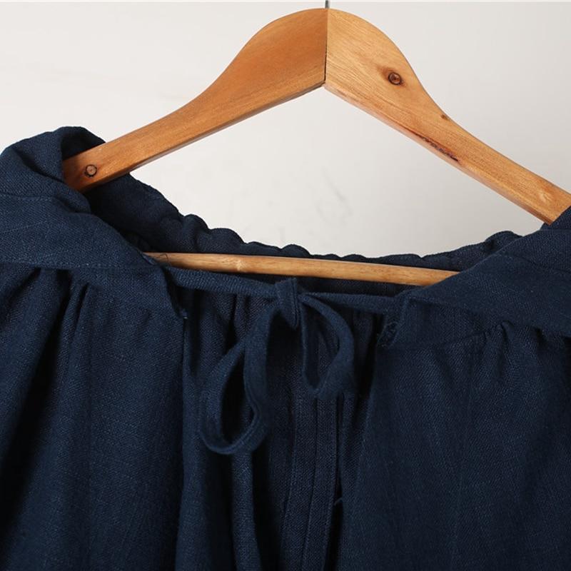 De Vêtements Poncho Frais Unisexe Printemps Cap Longue Coton Tranchée Toile Manteau Capuchon Automne Ceinture bleu Noir Sorcière À Halloween rouge gqaEFw