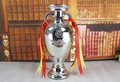 26cm  French European Cup Model Henri Delaunay Trophy Cup 26cm Height Football Fans Souvenirs Trophy Collectib