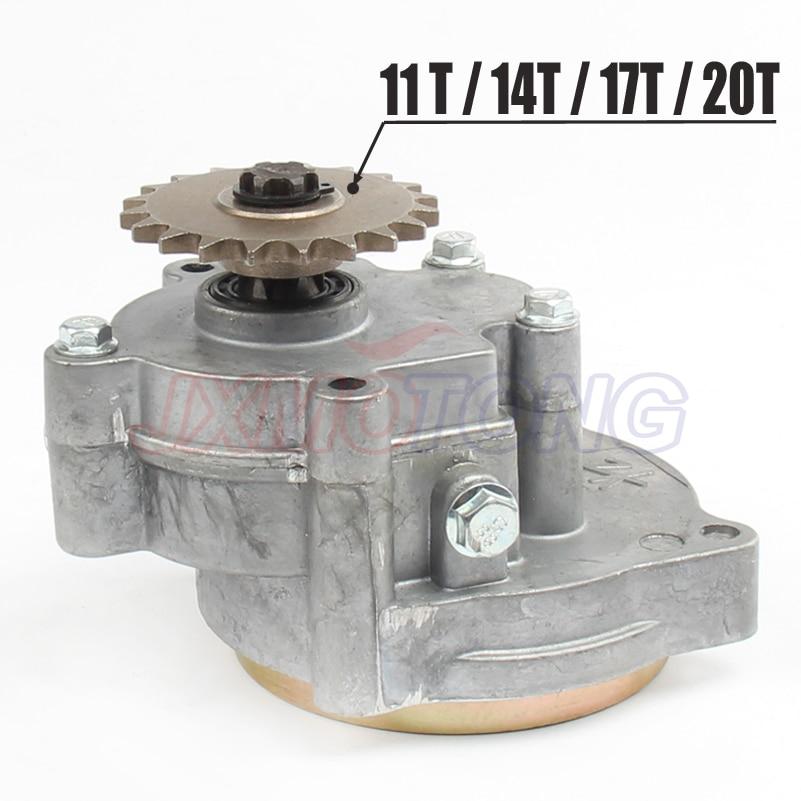 T8F 11T 14T 17T 20T Tooth Clutch Drum Gear Box Sprocket 33cc 43cc 49cc Ty Rod II Go Kart Mini Moto Dirt Bike Scooter