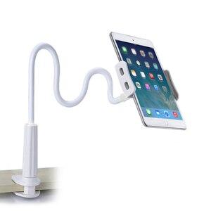 Image 2 - Гибкий Настольный держатель для планшета iPad Mini Air Samsung, подставка для ленивого планшета, ПК, крепление большого телефона