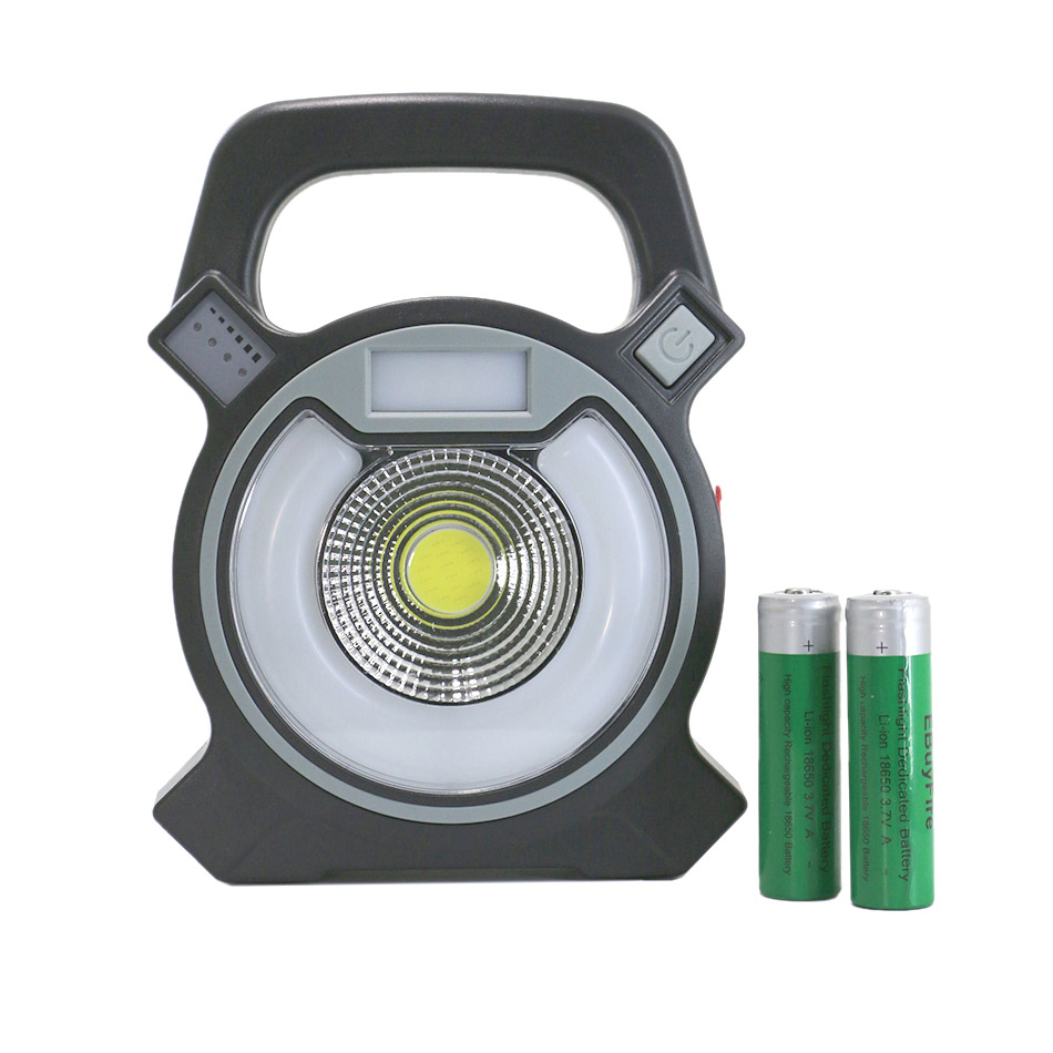 Us 16 7 19 Off Usb Led Working Light Work Lamp 18650 Rechargeable Portable Lamps Multifunction Red Blue Campfire Outdoor Jobs With Battery In