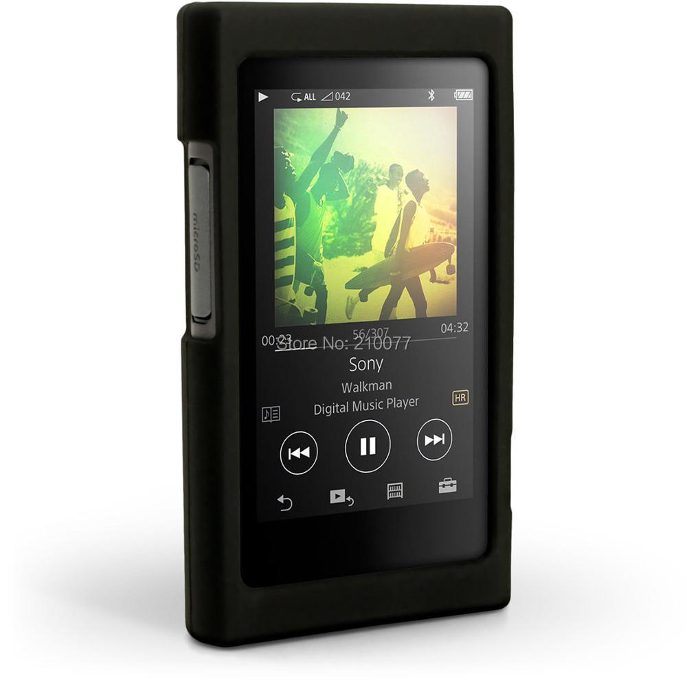 Silicone Gel Skin Case For Sony Walkman Nw A35 A45 A46 A36 A37hn With High Resolution Audio Yellow No Including Machine