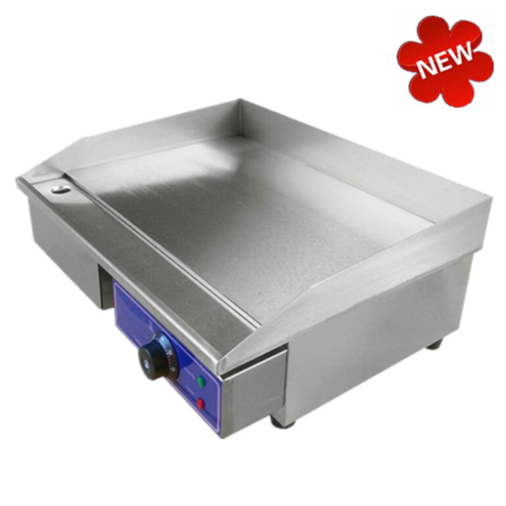 Fast Ship from Germany Cheap New 220V Commercial Griddle Electric With Thermostat Electric  Germany stock