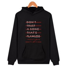 21 Pilots Twenty One Pilots Hoodies Men Women Sweatshirt Hip Hop Tracksuit 21 Pilots Band hoodie Casual