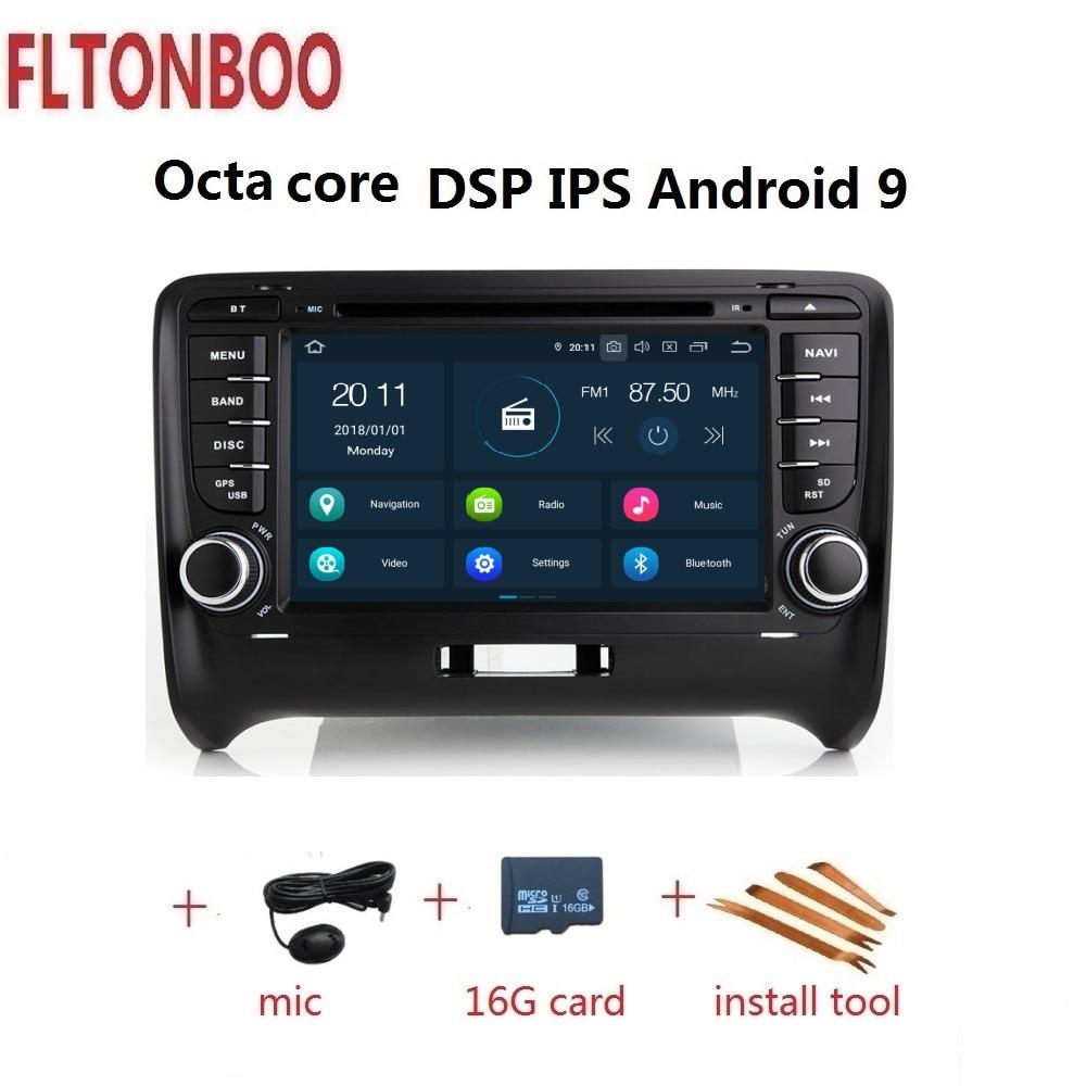7 Android 9 for AUDI TT 8J MK2 2006 2012 car DVD gps navigationi 3g 4GB