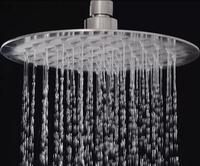 Новинка 2017 года Высокое качество 16 дюймов 304 нержавеющая сталь круглый ультратонких осадков Насадки для душа экономии воды Насадки для душа