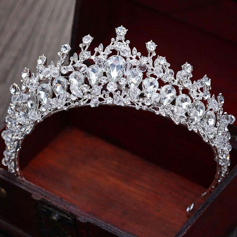 luxury design women crown headwear