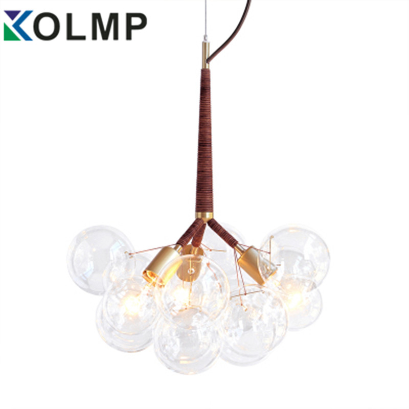 glass bubble chandelier lighting. clear glass bubble chandelier lighting 346 lights fashion design hanglamp for indoor