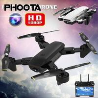 RC Drone Wifi FPV 1080P HD Camera Wide angle Optical Flow Dual Follow Me Altitude Hold Quadcopter Toys