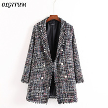 Fresh style Spring/Autumn female casual jacket coat hand-tas