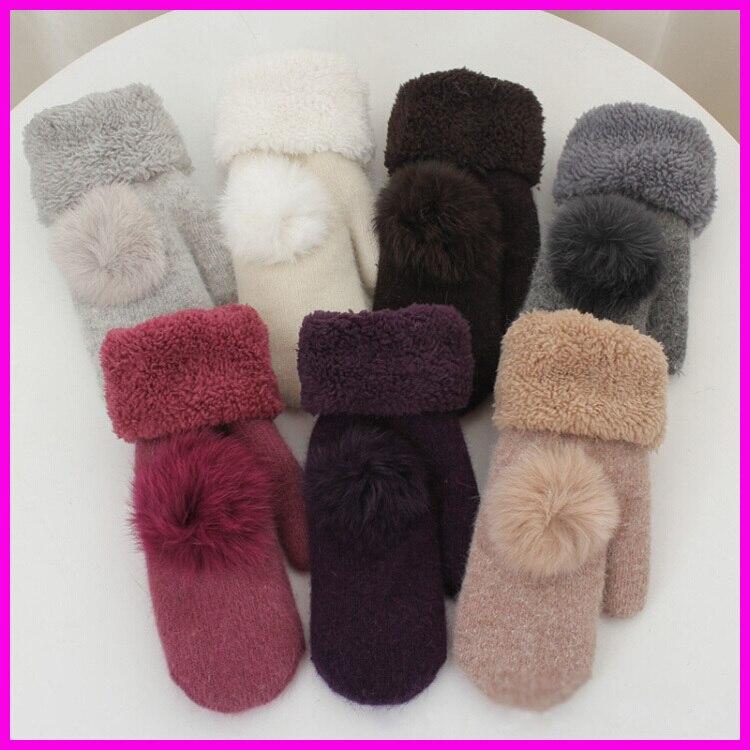 2016 New Fashion Winter Fingerless Gloves Mittenss