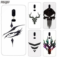 Luxury Soft TPU Silicone Phone Back Case For OnePlus 5 5T 6T 6 Frosted Fundas Printed Cover Sketches