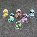 6 Pçs/lote 6 cm PVC Bonito Anime Japonês Grátis! Iwatobi Swim Club Haruka Nanase Rin Macoto Rei Figuras de Ação Brinquedos Modelo Com Caixa