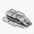 5 peças de metal ferrolho occitano tronco caixa de ferramentas de bloqueio de ar de bloqueio fecho de fivela de ferro hasp hardware fecho artesanal