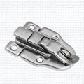 free shipping 5 pieces metal hasp Occitan box toolbox lock trunk lock air box clasp buckle iron hasp fastener handmade hardware