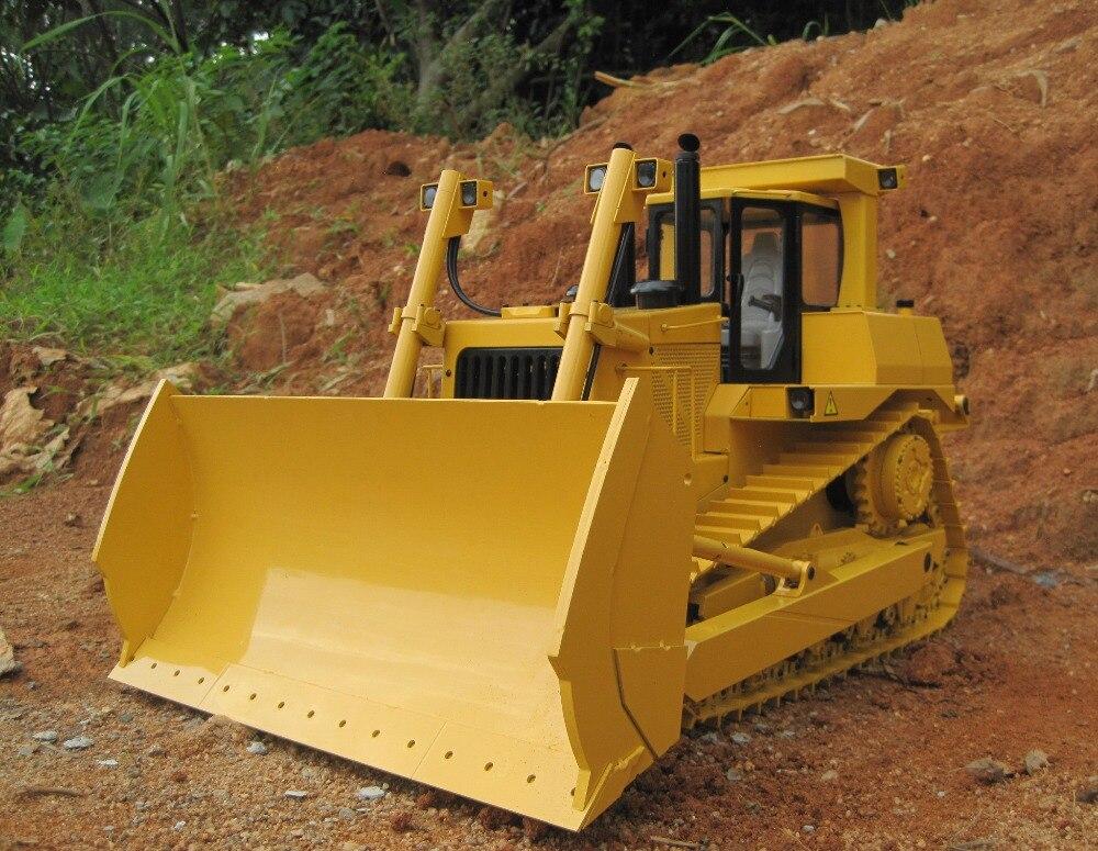 Bulldozer hydraulique RC à l'échelle 1/14