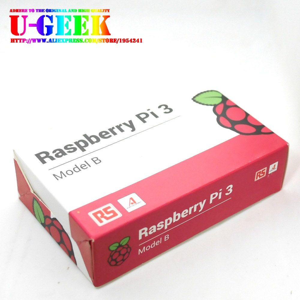 RS Original Raspberry Pi 3 Model B 1GB RAM Quad Core 1.2GHz 64 bit CPU with WiFi & Bluetooth3B64bitBCM2837Made in japan