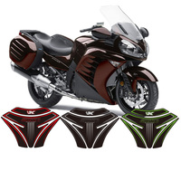For Kawasaki GTR1400 GTR 1400 2007 2015 Motorcycle 3D Tank Pad Protective Cover Decals Sticker
