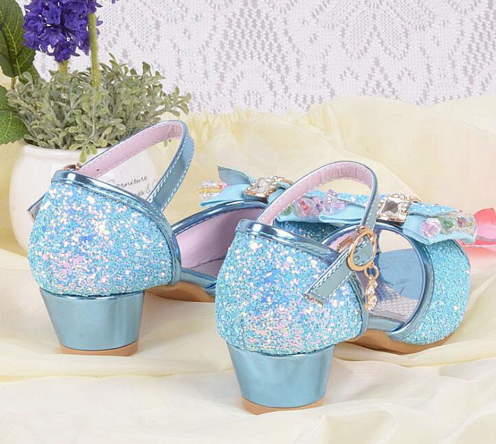 Nieuwe zomer meisjes prinses sandalen kinderschoenen kinderen meisjes - Kinderschoenen - Foto 5