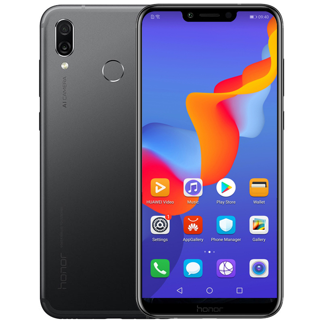 Huawei Honor Play 4GB 64GB 6.3 inch Kirin 970 Octa Core Android 8.1 Cellphone 2340x1080 Quick Charger 9V/2A 16.0MP Fingerprint