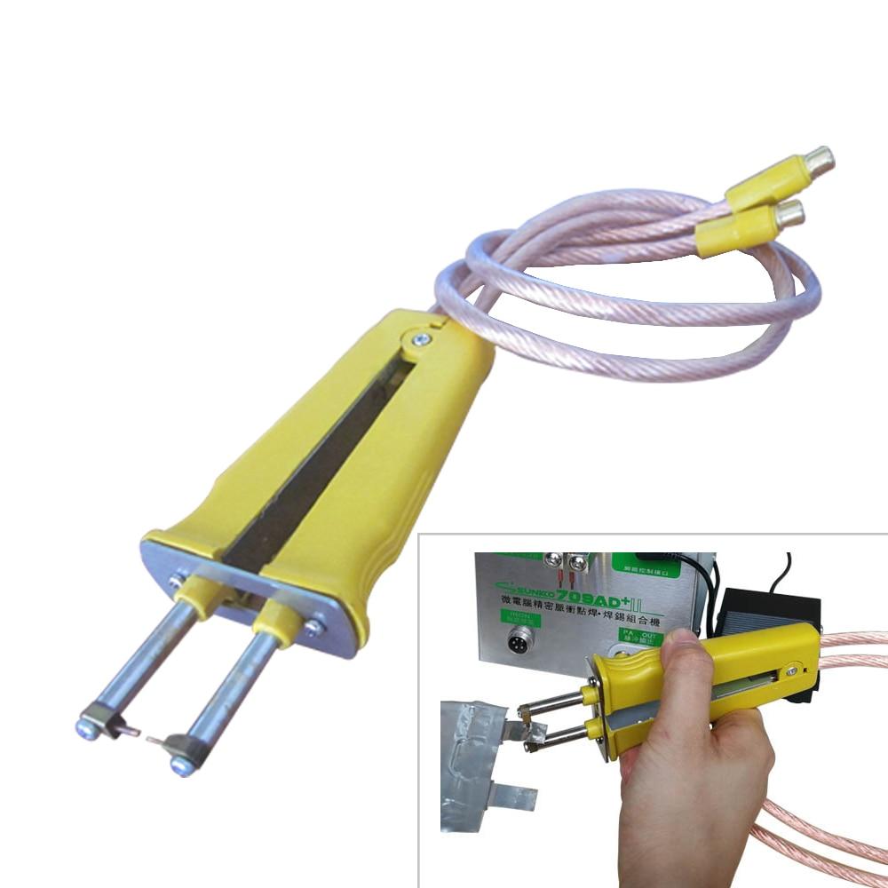 HB 71B Pulse welding spot welding pen Suitable for battery welding machine Pure copper cable alumina