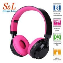 SL Nuevo Auricular Bluetooth auriculares de juegos de auriculares con MICRÓFONO auriculares Inalámbricos Bluetooth brillante para un teléfono móvil y el PC