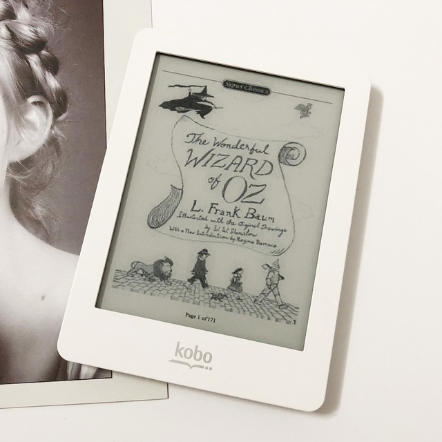 Lector de eBook Kobo glo N613 XGA e-tinta de 6 pulgadas 1024x768 2 GB-luz WiFi eReader