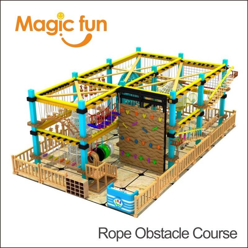 Волшебный весело Топ производитель поставляет парк Сити веревки вызов курс команды строительной деятельности indoor веревочный препятствий