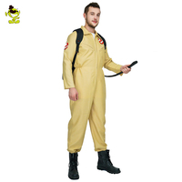 Men's Ghostbusters Cosplay Costume Ghostbusters Uniform Jumpsuits For Carnival Party Role Play Ghostbuster Costumes