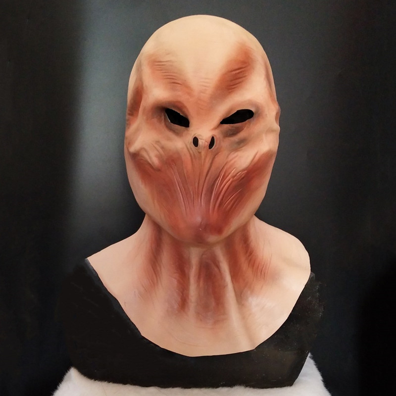 Hot Selling Halloween Cosplay Horror Latex Alien Mask