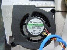 Original SUNON GB1205PKV4-AY 50 * 20MM DC12V 1.3W projector cooling fan