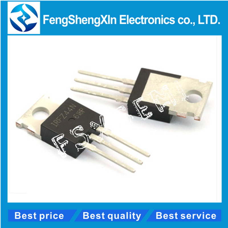 10pcs/lot New IRFZ44N transistor TO-220 IRFZ44NPBF Power MOSFET10pcs/lot New IRFZ44N transistor TO-220 IRFZ44NPBF Power MOSFET