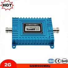 GSM repetidor de sinal celular repetidor Ganho 65dB 2g amplificador de sinal móvel impulsionador 900 MHz