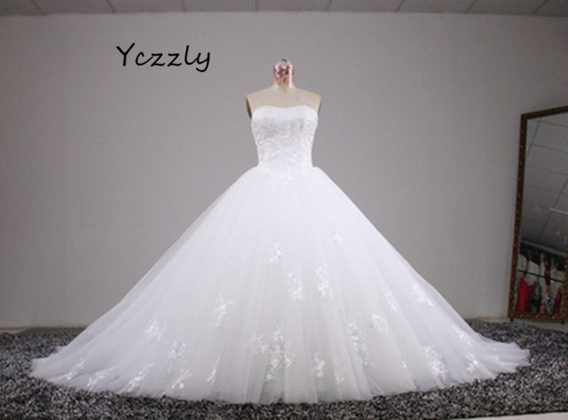 Aliexpress.com : Buy Princess Style Wedding Dress 2017 Vintage ...