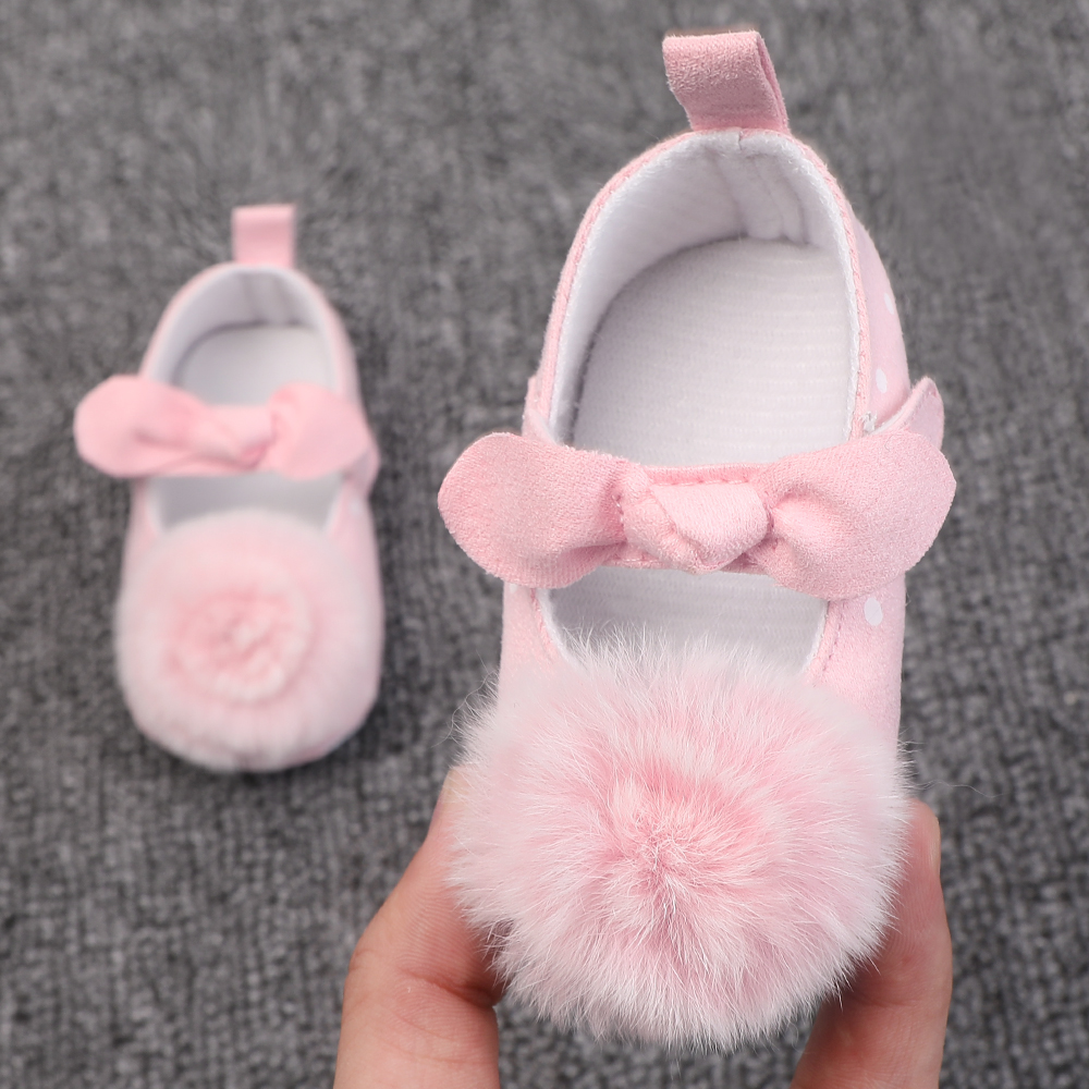 Baby Girl Princess Shoes Floral Soft Sole Moccasins Footwear Newborn First Shoes For Baby Crib Shoes 0-18 Months