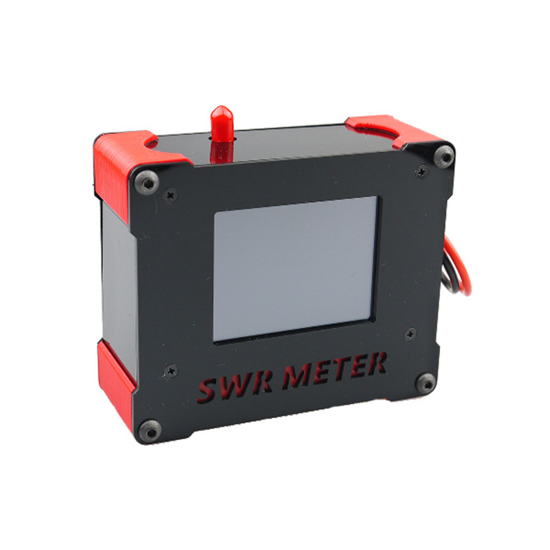 High Quality OWLRC 5.8G 200mw 40CH VTX TFT 2.8 Inch Touch Screen SWR METER SMA/RP-SMA Male For RC Drone Multi Rotor FPV Parts rp sma female to y type 2x ip 9 ms156 male splitter combiner cable pigtail rg316 one sma point 2 ms156 connector for lte yota