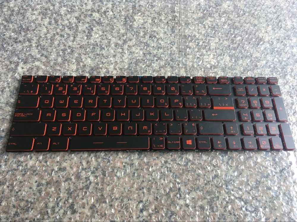 New   keyboard for MSI GL72 RU GP72 GE62 GE72 GL62 GS70 GP60 GP62 GT72 GE72 16J9 backlit CF/canadian french layout new notebook laptop keyboard for dell studio 15 1535 1536 1537 0kr770 backlit french layout