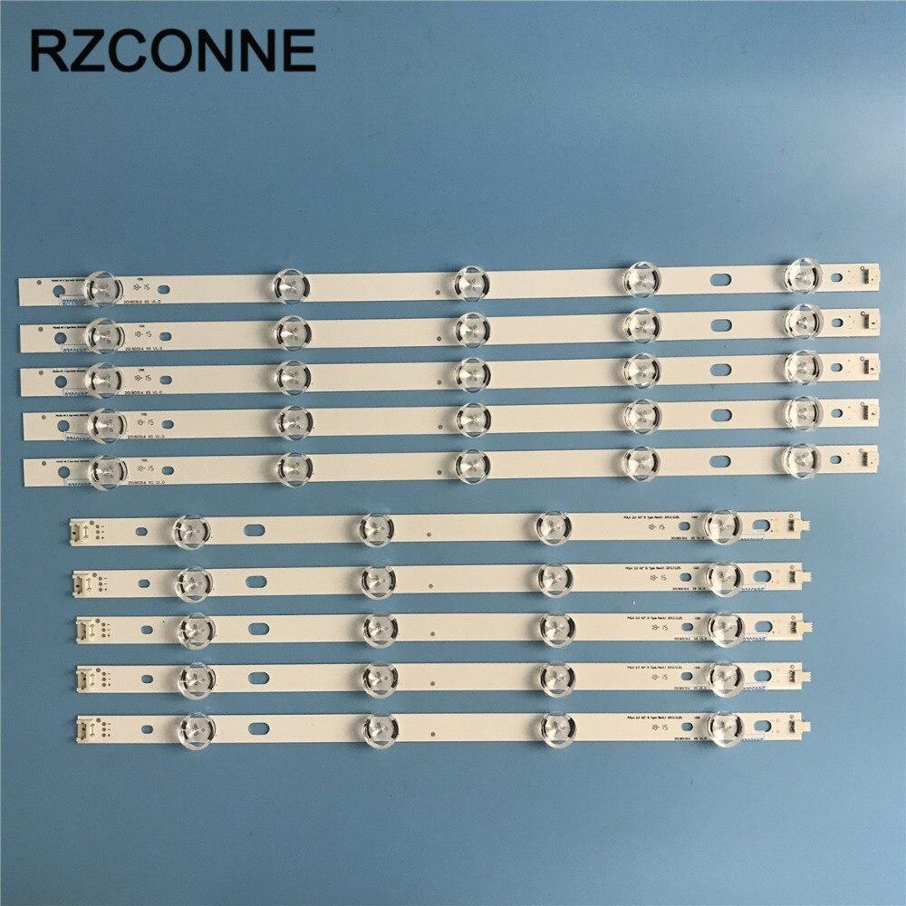 10pcs LED strip 9leds For LG INNOTEK POLA2 0 42 A B TYPE Rev0 1 42LN5300