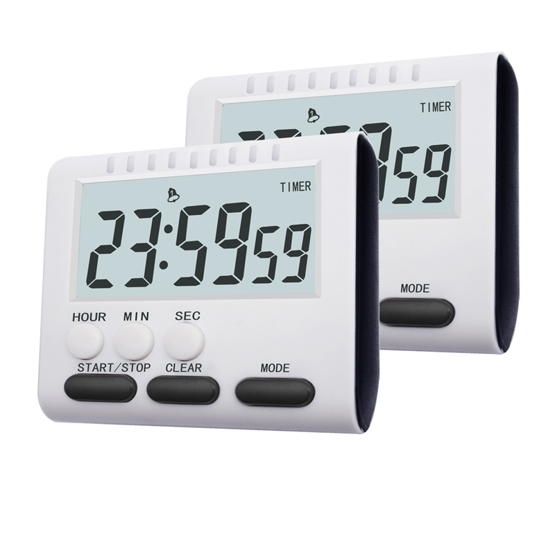 Kitchen Timer Alarm-Clock Practical-Supplies Food-Tools Cooking Multifunctional Home title=