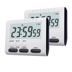 Multifunctional Kitchen Timer Alarm Clock Home Cooking Practical Supplies Cook Food Tools Kitchen Accessories 2 Colors(China)