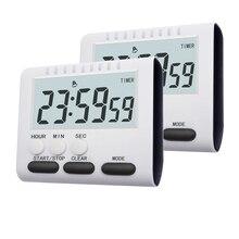 Temporizador de cocina multifuncional, reloj alarma para cocina, suministros prácticos para cocinar en casa, utensilios de cocina, accesorios de cocina, 2 colores