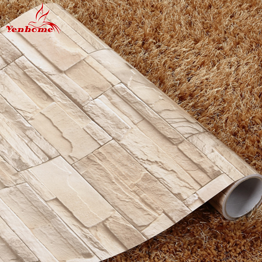 Pe Foam 3d Wallpaper Online Buy Wholesale Decorative Brick Wall From China