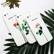 For iPhone 6s 6 Case KISSCASE Cool 3D Relief Plant Cases For iPhone