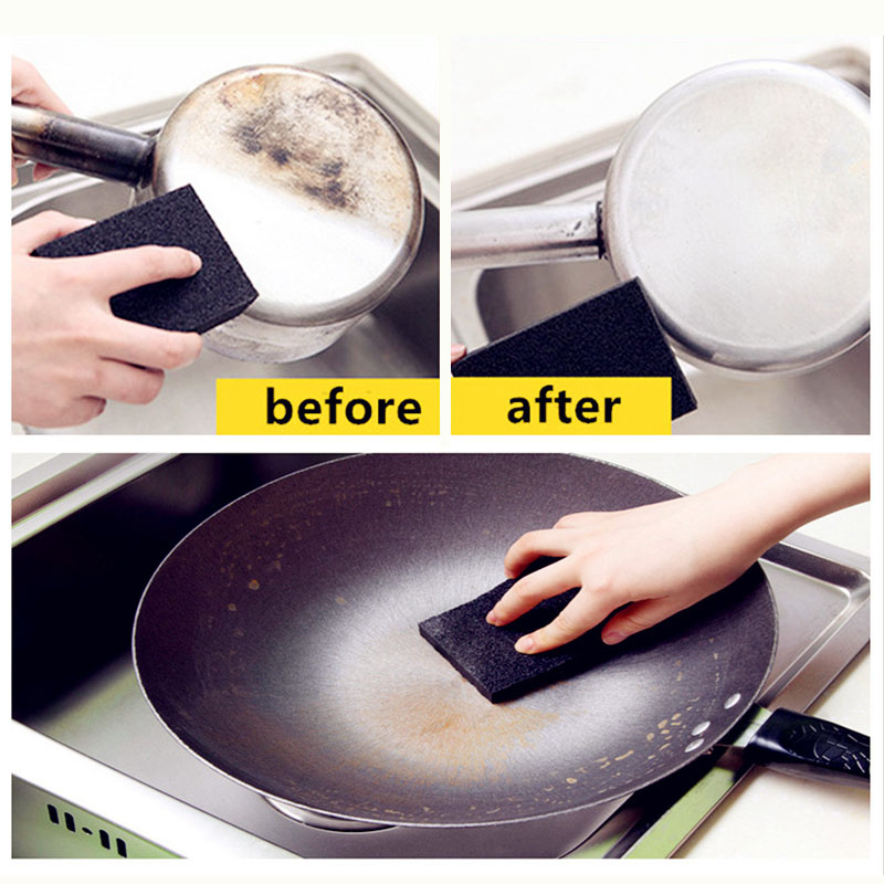 High Quality Melamine Sponge Kitchen Nano Emery Magic Cleaner Rub the Pot Except Rust Focal Stains Sponge Cleaning Accessories