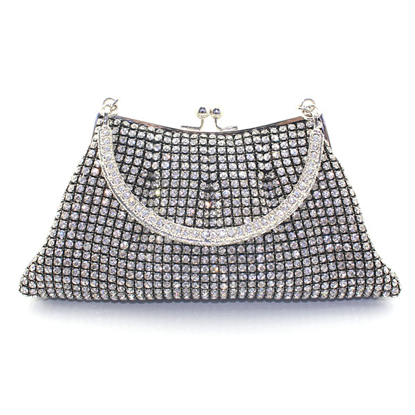 Three Color Crystal Plaid Women Metal Frame Wedding Party Evening Clutches Purse Ladies Bridal Clutch Bag(6084-BG) ladies wedding dress bridal crystal clutch bag women diamond dinner banquet evening purse silver metal clutches smyzh f0300