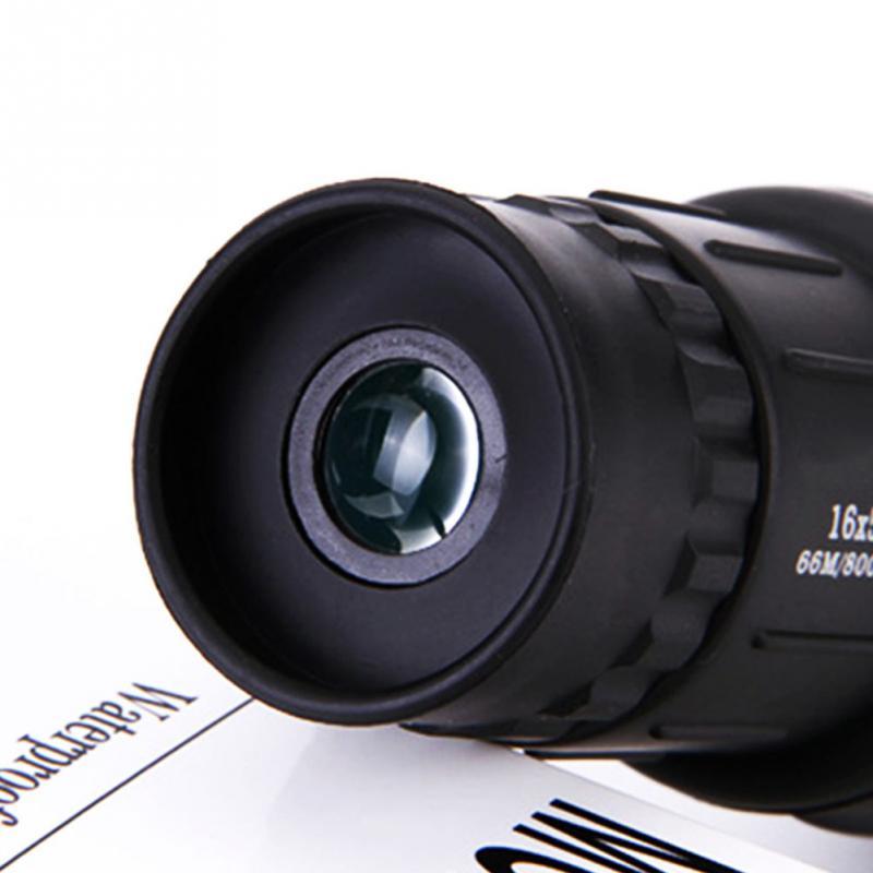16X52 HD nešiojamas dvigubo fokusavimo priartinimas Monokuliarus - Kempingai ir žygiai pėsčiomis - Nuotrauka 5