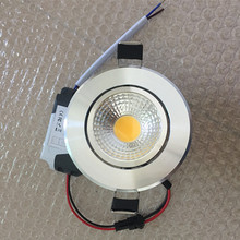 10x Dimmable Led Downlight COB 3W 5W 7W 10W 12W Ceiling light Spotlight AC110/220V Recessed Spot light Fixtures For Home