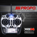 Original JR PROPO XG14 2.4GHz 14CH DMSS Transmitter with RG812BX XBUS Receiver for Multicopter Helicopter Airplane