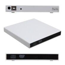 USB2.0 Внешний DVD Combo CD-RW Горелки Привод 24X запись CD-RW и читать DVD-ROM для ПК/Mac/Ноутбука/нетбук