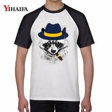 Summer Newest Cotton T Shirts Bear 3D Print Animal Graphic Tees Men Women Casual Hip Hop Tee Tops Unisex Streetwear Top bear print top